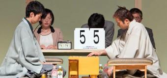 将棋日本シリーズ2014 JTプロ公式戦 一回戦第四局 ▲中村太地六段 – △丸山忠久九段