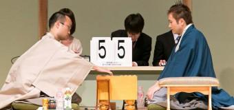 将棋日本シリーズ2014 JTプロ公式戦 準決勝第二局 ▲渡辺明二冠 – △丸山忠久九段