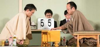 将棋日本シリーズ2014 JTプロ公式戦 決勝 ▲羽生善治名人 – △渡辺明二冠