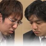 第65回NHK杯準決勝 第1局 ▲広瀬章人八段 – △村山慈明七段