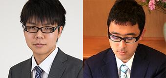 第47期新人王戦 準々決勝 ▲西田拓也三段 − △増田康宏四段