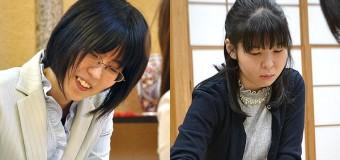 第28期女流王位戦 <里見香奈女流王位 − 伊藤沙恵女流二段>