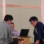将棋日本シリーズ2013 JTプロ公式戦 二回戦第一局 ▲佐藤康光九段 – △羽生善治三冠