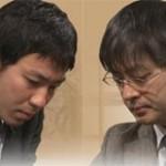 第63回NHK杯準決勝 第1局 ▲西川和宏四段 – △郷田真隆九段