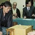 第51期名人戦七番勝負 第1局 ▲中原誠名人 – △米長邦雄九段