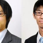 第56期王位戦挑決リーグ白組 ▲千田翔太五段 – △横山泰明六段