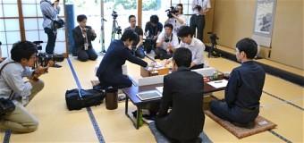 第31期竜王戦決勝トーナメント ▲増田康宏六段 − △藤井聡太七段