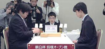 第12回朝日杯将棋オープン戦 2回戦 ▲糸谷哲郎八段 – △藤井聡太七段