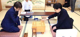 第60期王位戦挑決リーグ白組 ▲谷川浩司九段 – △羽生善治九段