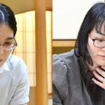 第2期ヒューリック杯清麗戦 <里見香奈清麗 − 上田初美女流四段>