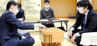 第46期棋王戦挑戦者決定二番勝負 第1局 ▲糸谷哲郎八段 − △広瀬章人八段